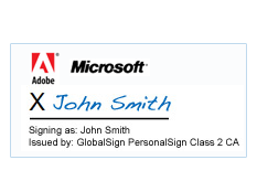 Digital Signature on Microsoft Document